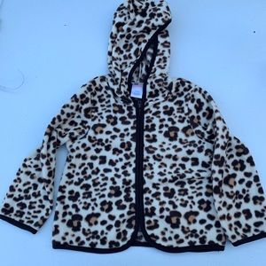 Gymboree leopard sweater 2T-3T